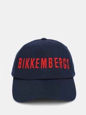 Бейсболка Bikkembergs. Цвет: siniy