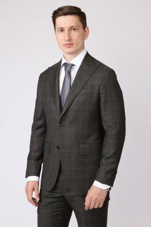 Костюмный приталенный пиджак из шерсти KANZLER
