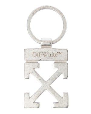 Брелок OMZG021F20MET0017800 UNI серебряный Off-White. Цвет: серебряный