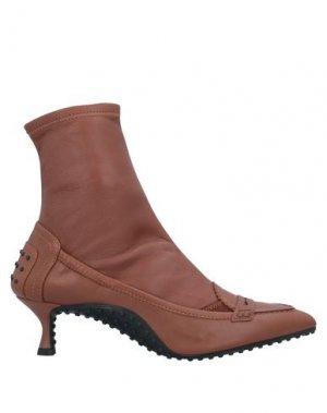 Полусапоги и высокие ботинки ALESSANDRO DELL'ACQUA x TOD'S. Цвет: коричневый