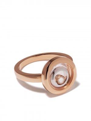 Кольцо Happy Spirit из розового и белого золота с бриллиантами Chopard. Цвет: розовый