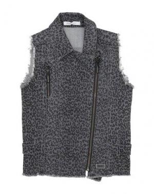 Джинсовая верхняя одежда LIU •JO. Цвет: свинцово-серый