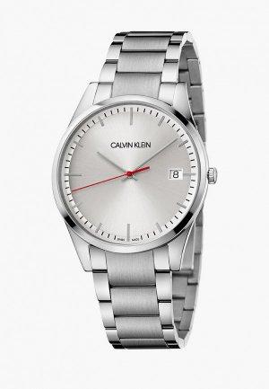 Часы Calvin Klein. Цвет: серебряный