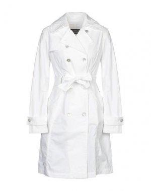 Легкое пальто FEMME by MICHELE ROSSI. Цвет: белый