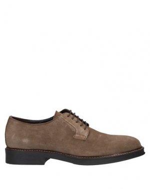 Обувь на шнурках CAFèNOIR. Цвет: хаки