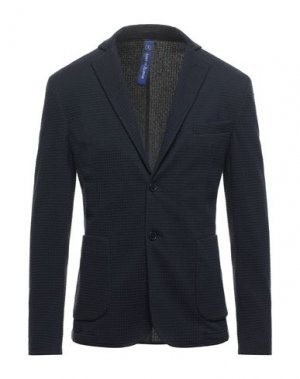 Пиджак LOST IN ALBION. Цвет: темно-синий