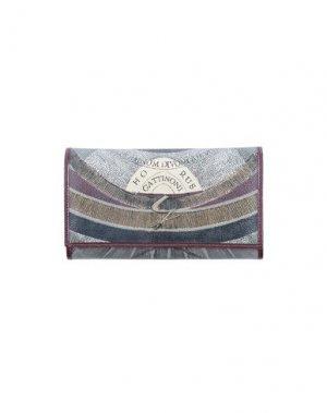 Бумажник GATTINONI. Цвет: баклажанный