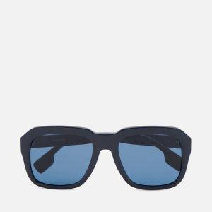Солнцезащитные очки Astley Burberry. Цвет: синий