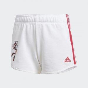 Шорты Gym Performance adidas. Цвет: белый