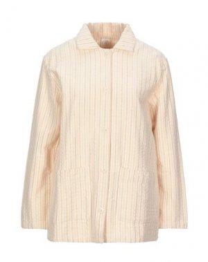 Пиджак DES PETITS HAUTS. Цвет: абрикосовый