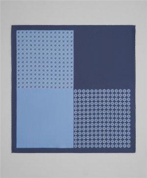 Платок нагрудный HENDERSON. Цвет: синий