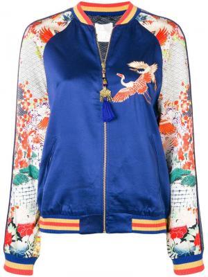 Embellished bomber jacket Camilla