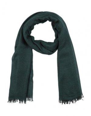 Палантин BEGG & CO. Цвет: темно-зеленый