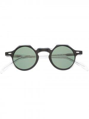 Солнцезащитные очки Yoga Lesca. Цвет: черный
