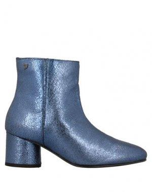 Полусапоги и высокие ботинки GIOSEPPO. Цвет: грифельно-синий