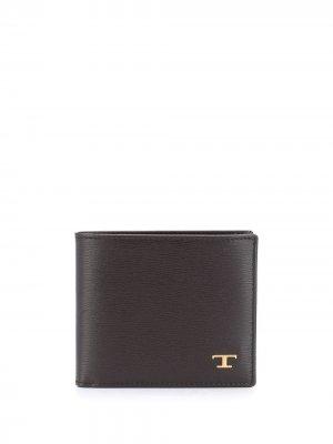 Tods складной кошелек Tod's. Цвет: коричневый