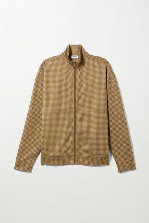 Спортивная куртка Elias Weekday. Цвет: разноцветный, коричневый