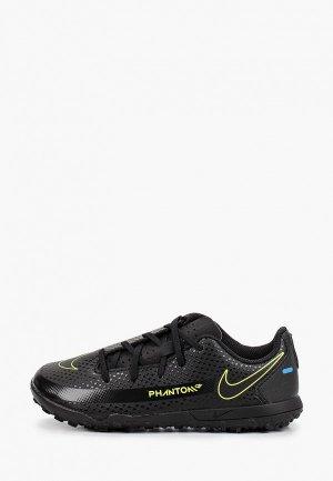 Шиповки Nike JR PHANTOM GT CLUB TF. Цвет: черный
