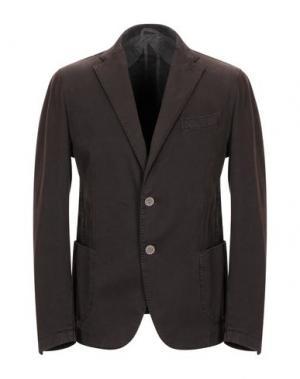 Пиджак JERRY KEY. Цвет: темно-коричневый