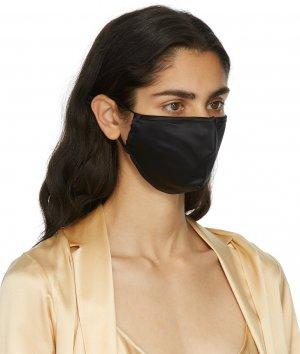 Black Silk Face Mask La Perla. Цвет: b010 black
