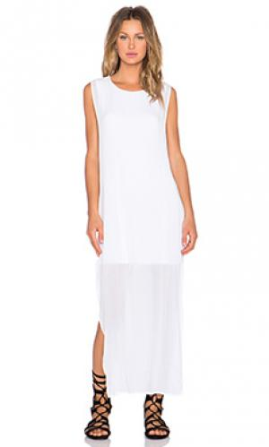 Платье nile YFB CLOTHING. Цвет: белый
