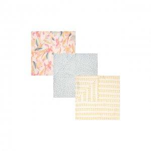 Комплект из трех пеленок Aden+Anais. Цвет: разноцветный