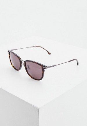 Очки солнцезащитные Boss 1287/F/SK 086. Цвет: коричневый