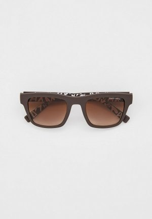 Очки солнцезащитные Armani Exchange AX4088S 804113. Цвет: коричневый