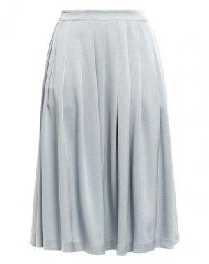 Юбка длиной 3/4 FILIPPA K. Цвет: серый