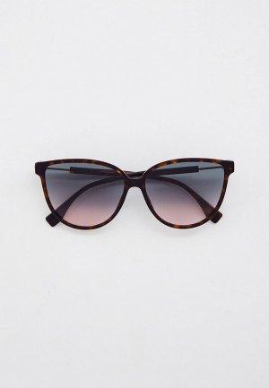 Очки солнцезащитные Fendi FF 0345/S 086. Цвет: коричневый