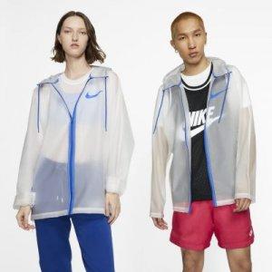 Прозрачный дождевик Nike - Белый