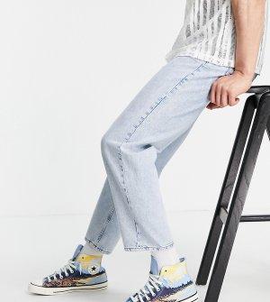 Прямые джинсы в стиле 90-х классического синего выбеленного цвета Inspired-Голубой Reclaimed Vintage
