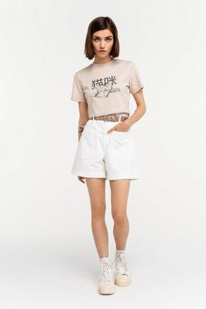 Шорты джинсовые befree. Цвет: 1, белый