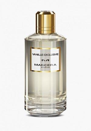 Парфюмерная вода Mancera Vanille Exclusive 120 мл. Цвет: прозрачный