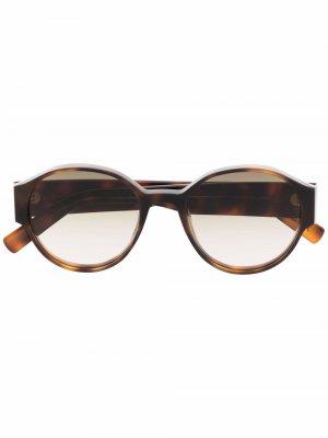 Солнцезащитные очки с логотипом Christian Roth. Цвет: коричневый