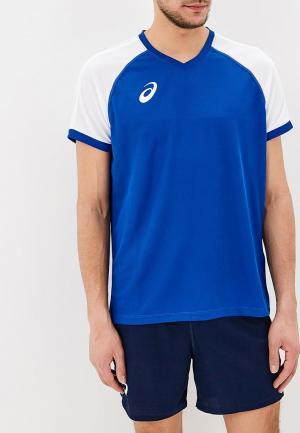Костюм спортивный ASICS MAN VOLLEYBALL V-NECK SET. Цвет: синий