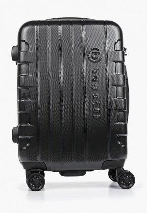 Чемодан Bugatti. Цвет: черный
