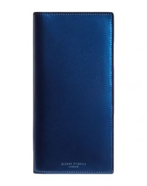 Бумажник DUNHILL. Цвет: синий