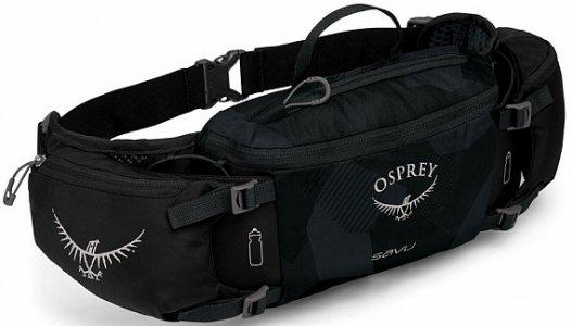 Сумка поясная Osprey Savu. Цвет: черный
