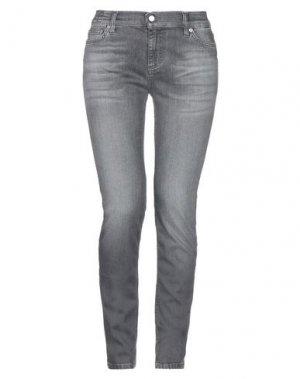 Джинсовые брюки DON THE FULLER. Цвет: серый