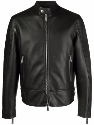 Куртка на молнии Dsquared2. Цвет: черный