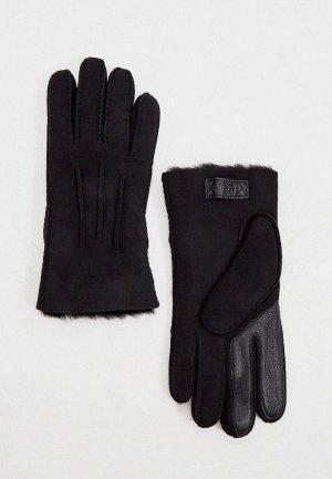 Перчатки UGG touchscreen. Цвет: черный