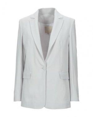 Пиджак TROU AUX BICHES. Цвет: светло-серый