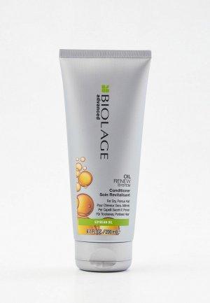 Кондиционер для волос Matrix Biolage Oil Renew восстановления волос, 200 мл. Цвет: прозрачный
