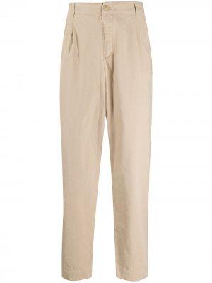 Зауженные брюки средней посадки Folk. Цвет: нейтральные цвета