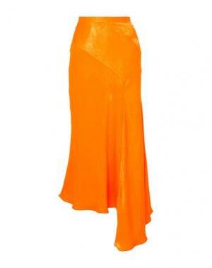 Длинная юбка HOUSE OF HOLLAND. Цвет: оранжевый