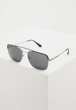 Очки солнцезащитные Prada PR 53VS M4Y5S0. Цвет: серый