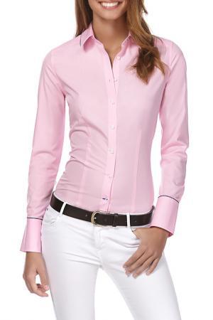 Рубашка Vincenzo Boretti. Цвет: розовый