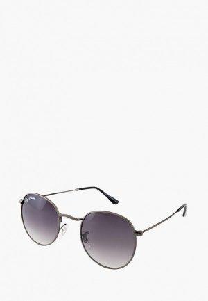 Очки солнцезащитные Ray Flector. Цвет: серый