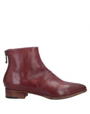 Полусапоги и высокие ботинки ALBERTO FERMANI. Цвет: кирпично-красный
